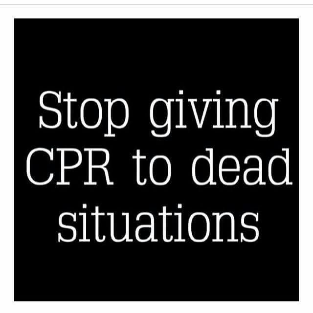 """""""Exactly!!! Close the door, let it go, pray for spiritual guidance for a better situation and move on. Life is too short and so many beautiful experiences to experience.  So, don't waste your time on CPR people!!!"""""""