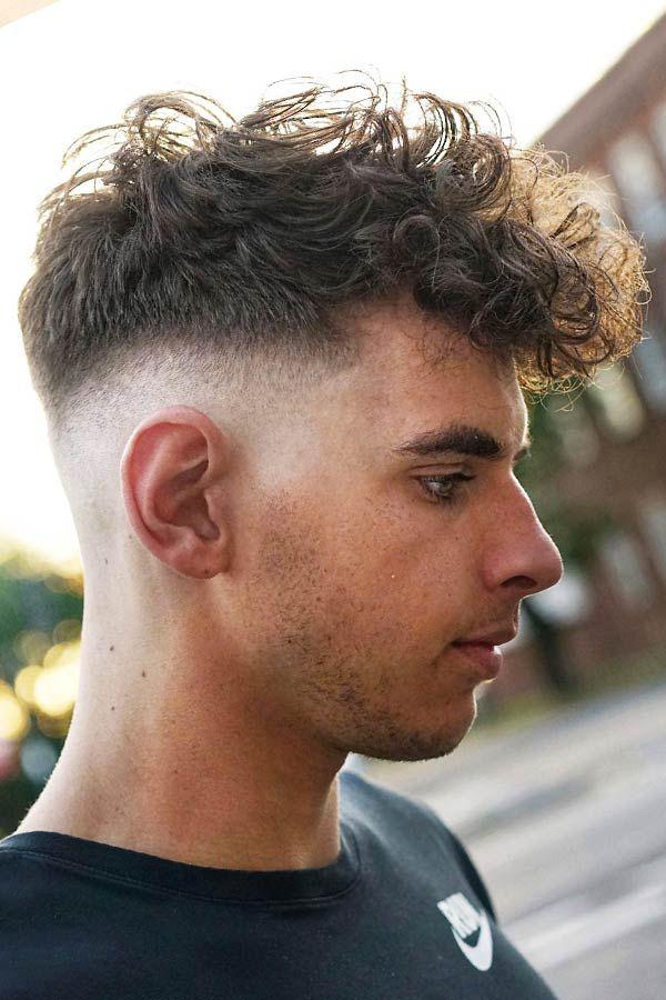 Fresh And Trendy Curly Undercut Ideas For Men Menshaircuts Com Mens Hairstyles Undercut Perm Hair Men Curly Hair Men