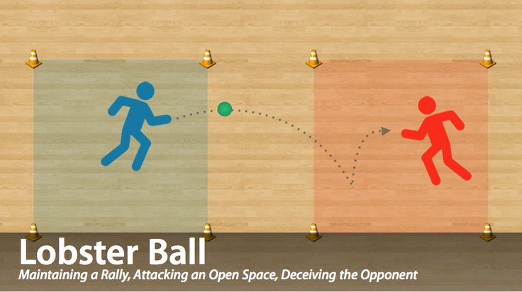 Lobster Ball is a fun net/wall game for your physical education classes. Click through to learn more about the rules, layers, tactics and learning outcomes this game focuses on! #physed