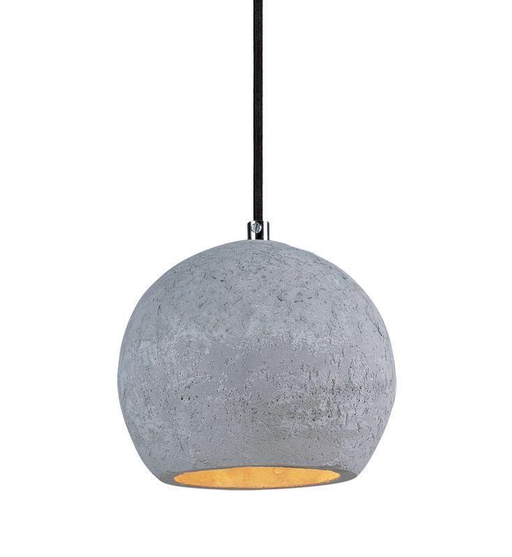 Maxim Lighting - 12390GYPC - Crete Polished Chrome 1 Light Pendant