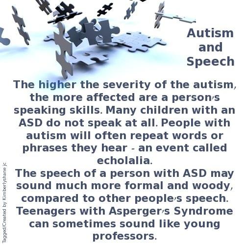 autism speech