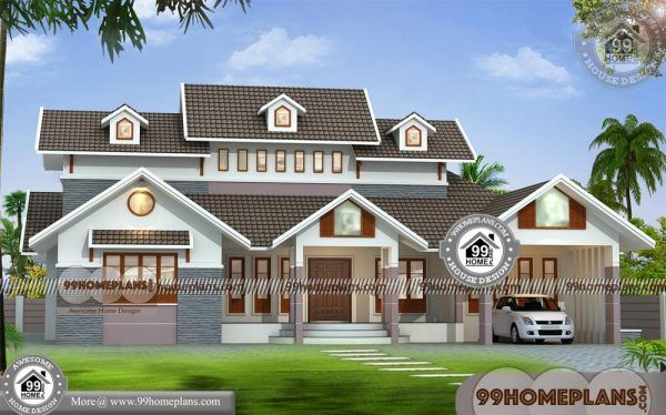 Single Floor House Elevations Indian Style 60 Modern Home