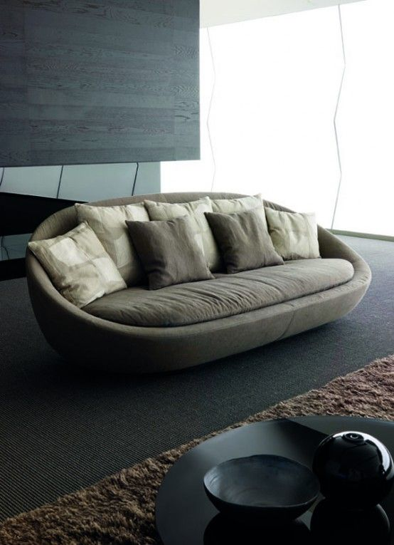 Elegant Sofa for Modern Living Room - Lacon by Desiree Divano