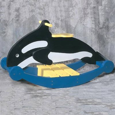 Buy Woodworking Project Paper Plan to Build Rocking Whale, Plan No. 913 at Woodcraft.com
