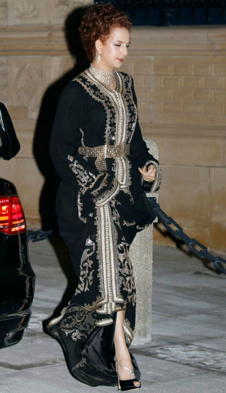 Princess Lalla Salma of Morocco :: October 19, 2012 in Luxembourg