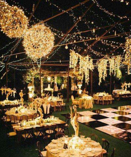 Fullonwedding - Indian wedding decor - Splendid Indian Wedding Decor Ideas - Lights