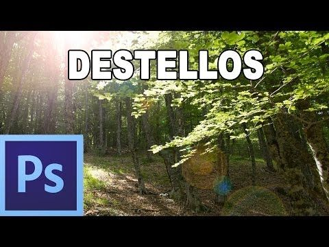 ▶ Destello de lente - Tutorial Photoshop en Español por @Natalia P Tutoriales - YouTube