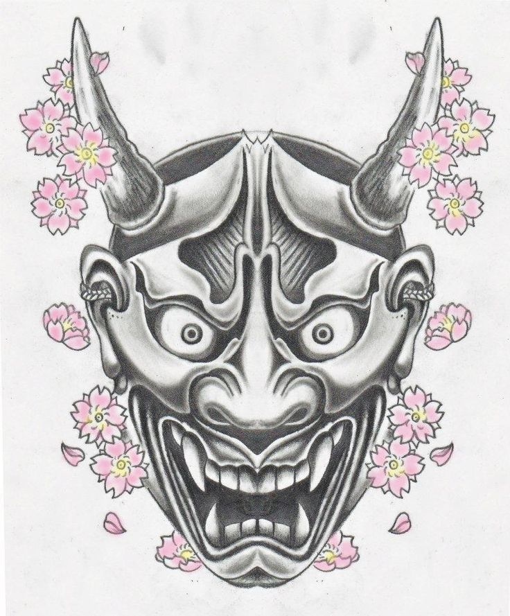 Kết quả hình ảnh cho hannya mask drawing