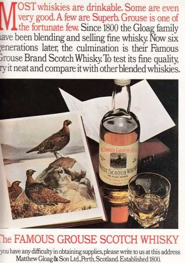 Famous Grouse May '72 #70sadverts