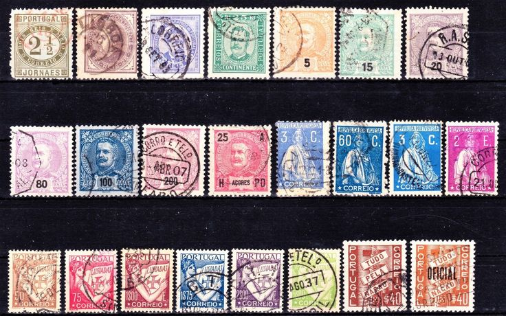 PORTUGAL 1876-1938 Collection Used. | eBay
