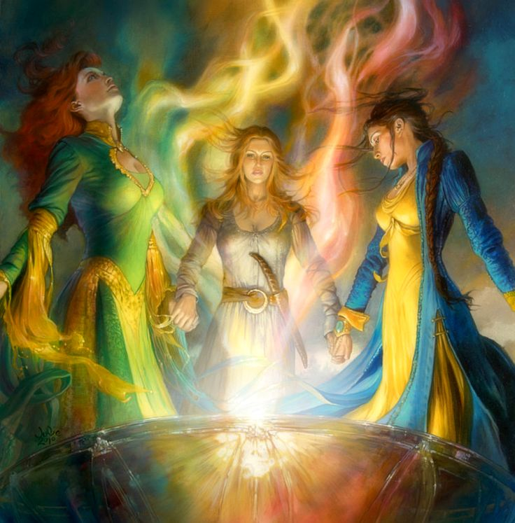 Light of the Sorcerers by Julie Bell