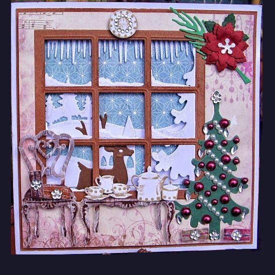 Kaartengalerij Marianne Design Christmas Items Pinterest