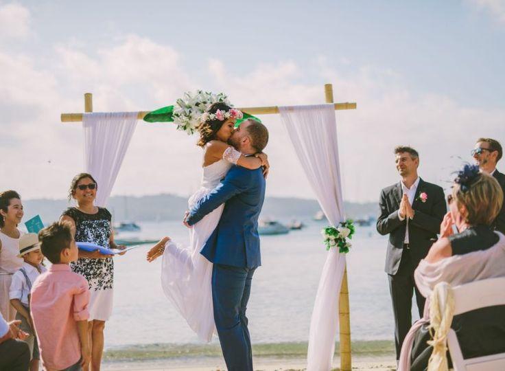Real Wedding   Beach Wedding Sydney   Candid Wedding Photography   Relaxed Wedding   DIY Wedding Signs   Beach Wedding Inspiration   Floral Arbor   Wedding Arch