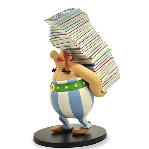 OBELIX FULL OF ALBUM RESIN STATUE LIMITED EDITION