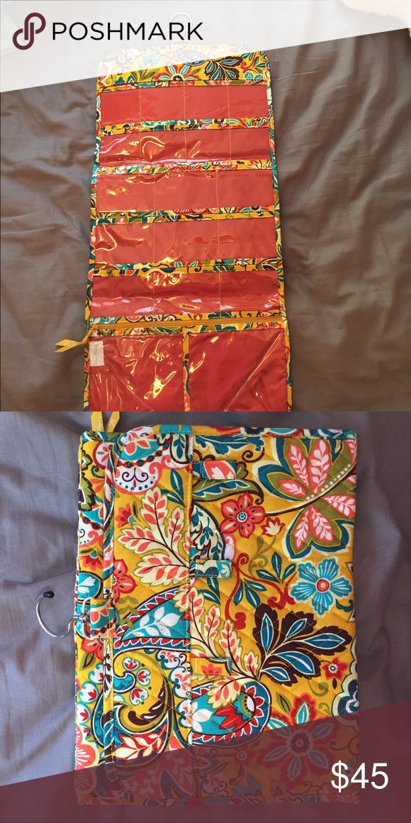 Vera Bradley travel bag Vera Bradley jewelry, makeup, toiletry travel bag. Never used. In great condition. Vera Bradley Bags