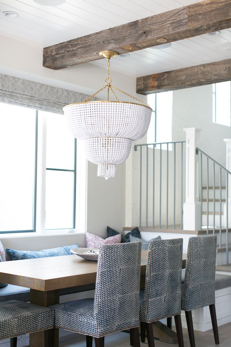 ... banquette dining set. Interior designer: Brooke Wagner Design