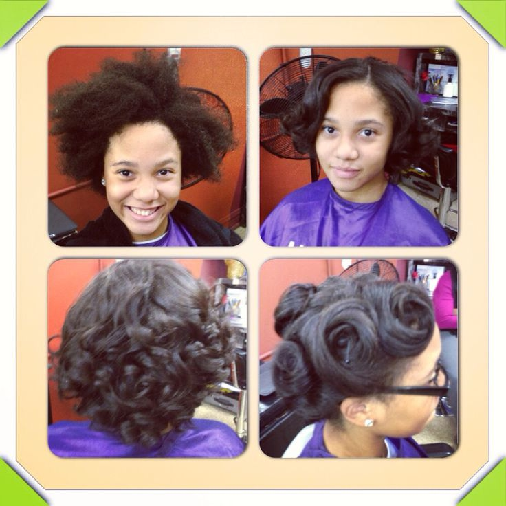 Natural Hair Press N Curl Natural Hair Easy