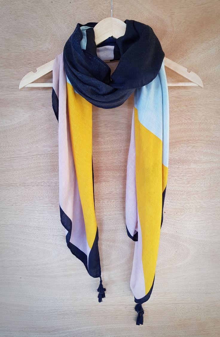 Hello Friday Multi coloured scarf - Industria