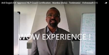 """ W O W EXPERIENCE ! ""    Testimonials Anil Dagia's #ICF #NLP #PRACTITIONER #DUAL #Certification #Life #Coach #Training #Mumbai ( #India )  Vishwanath D S, Senior Bureaucrat (IAS) (Retired)  http://anildagia.com/icf-nlp-coach-dual-certification-training-testimonials/467-vishwanath-d-s-icf-approved-nlp-coach-certification-mumbai-india"