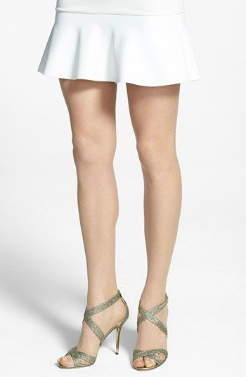 Wolford 'Luxe 9' Toeless Tights available at #Nordstrom