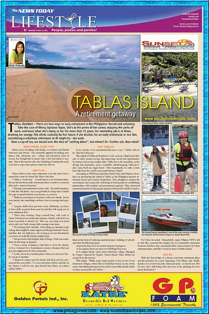 Philagrivest and SunSet Beach Villas are the two prime Investment opportunity's at Tablas Island, Romblon, Philippines.    Created by Expats for Expats, come and view more Information about our projects, see for yourself how low cost retirement lifesty