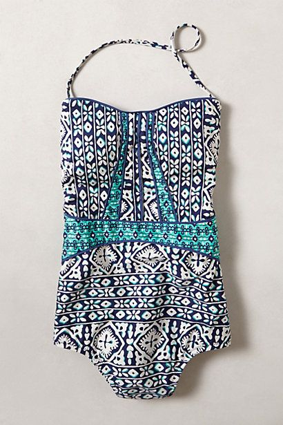 Swimsuit love #anthropologie