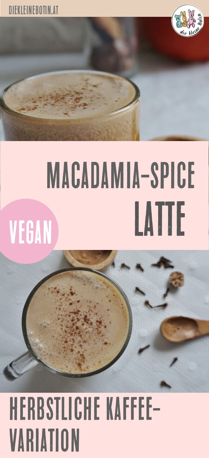 Kaffee. Pur? Ja. Und auch gern mal mit neuen Zutaten. Im Herbst sind Gewürze wie Zimt und Ingwer toll - die genau Zusammensetzung verrate ich im Rezept! Der Kaffee ist vegan und richtig wohlschmeckend! Nussig-sanft und mit dem richtigen Pepp an Gewürzen! #rezept #kaffee #spice #herbst