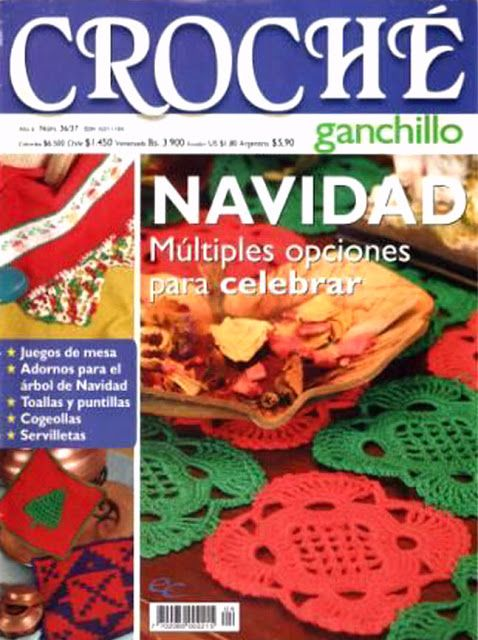 Delicadezas en crochet Gabriela: Patrones de navidad                                                                                                                                                                                 Más