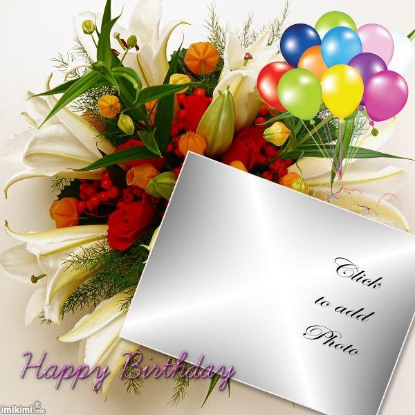 105 best Birthday Frames images on Pinterest Birthday frames - birthday wish template