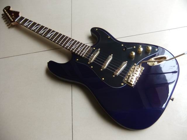 New Arrival Fdr classic Jaguar Model Electric Guitar Top quality in Blue 110915 #Affiliate