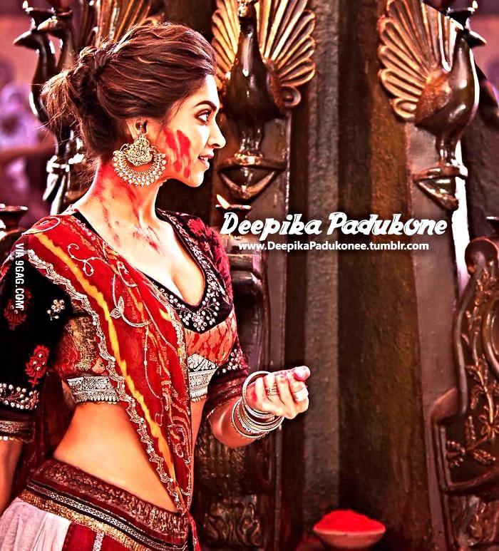 Deepika Padukone Sexy look in Ram leela Film