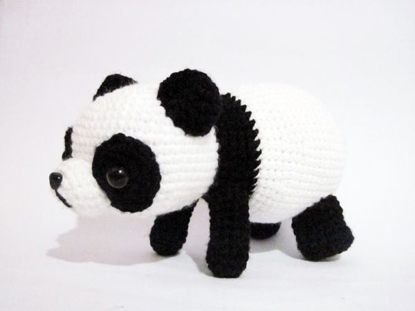 Oso Panda Amigurumi Patron Gratis : 174 best pandas images on pinterest crochet animals crochet panda