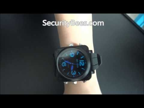 HD 1080P Spy Gear Spy Watch Video