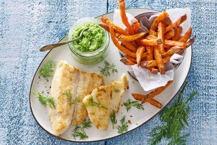 Met friet van zoete aardappel wordt het nog makkelijker om voldoende groente te eten!- Recept - Allerhande