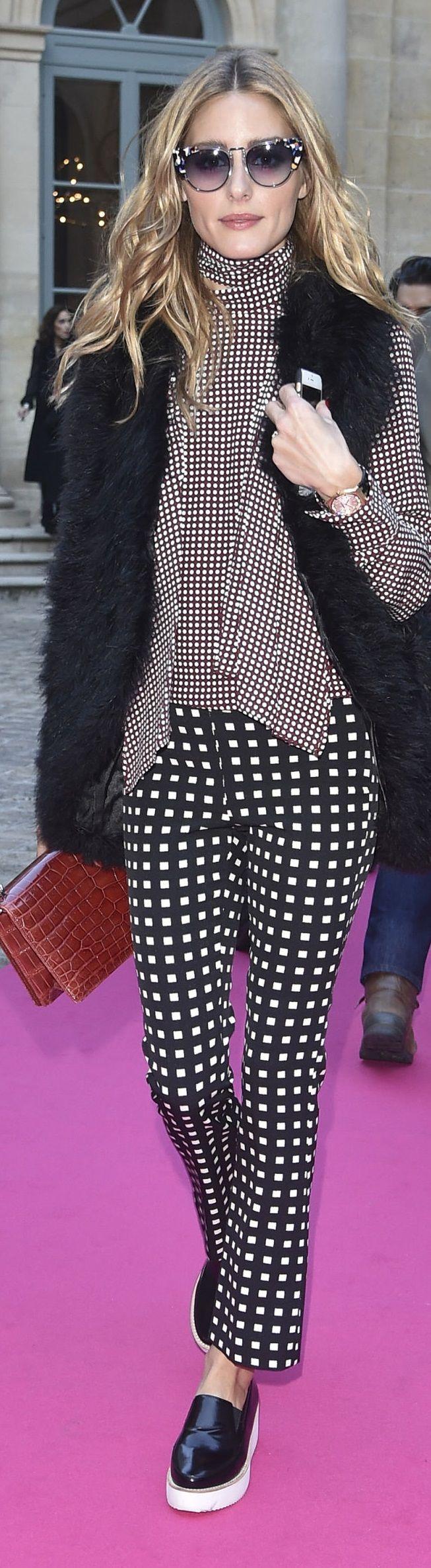 Olivia Palermo - #PFW #Schiaparelli #FashionShow