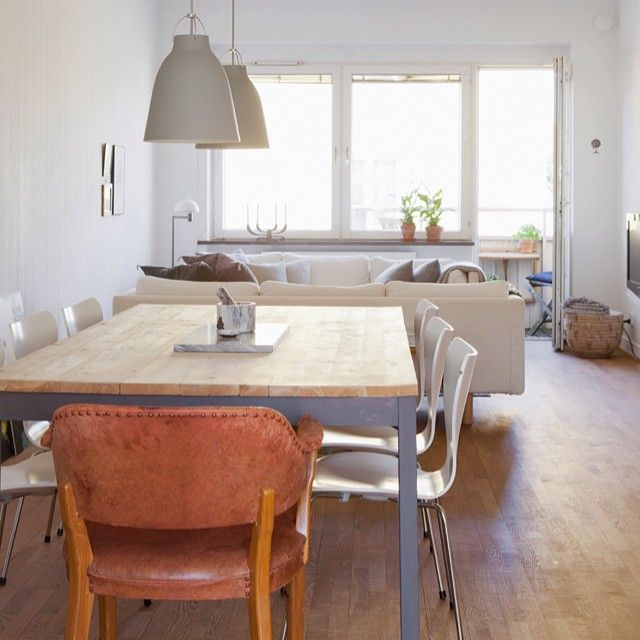 7 Best Seaside Interior Images On Pinterest  Birches Laminate Adorable Ikea Living Dining Room Decorating Design