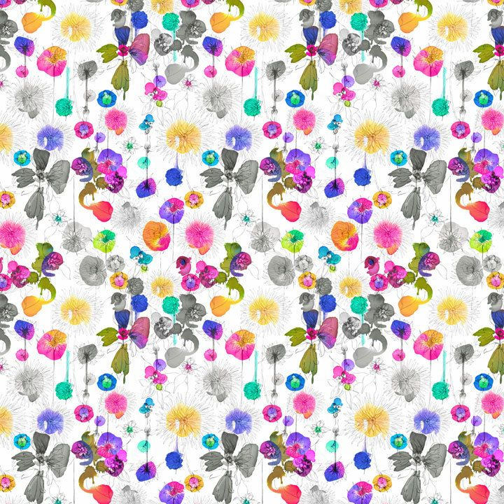 Dahlia Fabric | Imogen Heath
