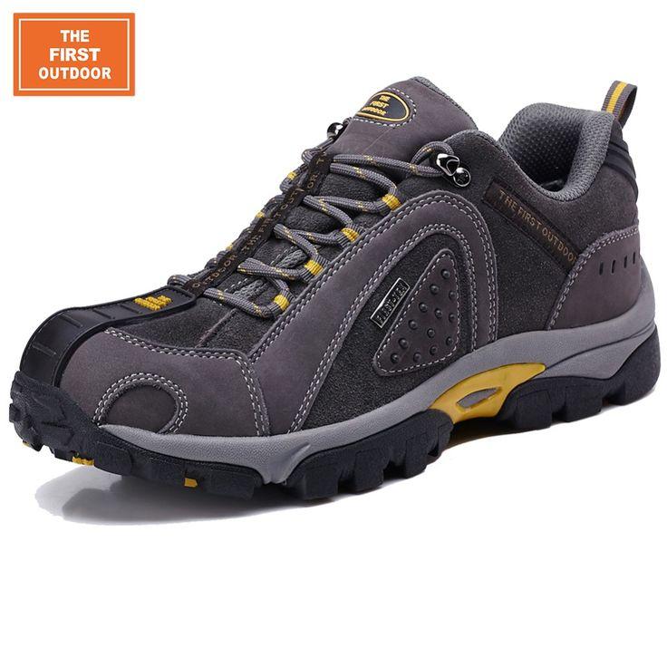 TFO Brand Men Hiking Shoes Outdoor Sneakers Trekking Shoes Man Mountain Climbing Mountain Waterproof Sports Walking Shoes 428
