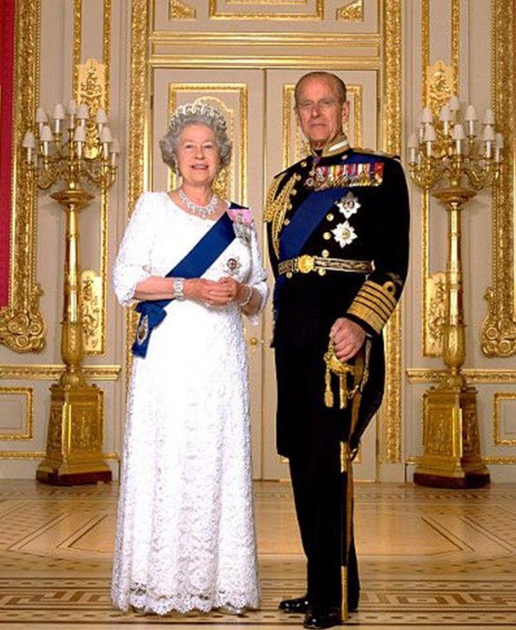 HM Queen Elizabeth II and HRH The Prince Philip, Duke of Edinburgh
