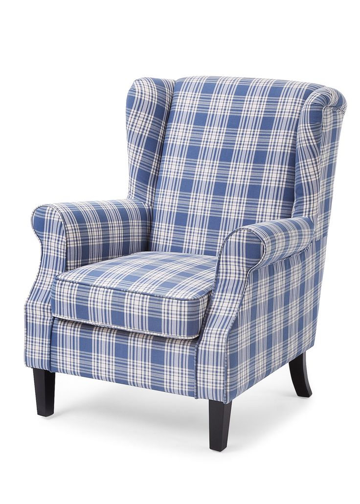 Der Bequeme Sessel Schafft Mit Seinem Charmanten Design Eine Behagliche  Wohlfühlatmosphäre. Im Stil Eines Ohrensessels