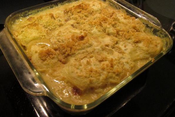 Vegetarian gravy and dumplings casserole