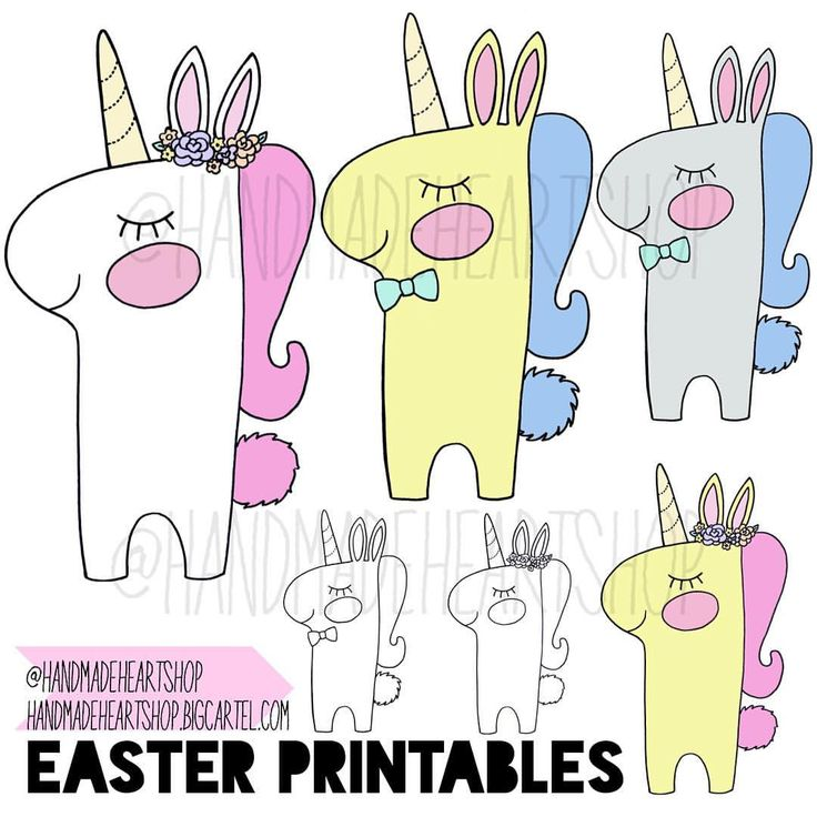 "✖️New!✖️ The Easter Bunny is here-and it's a Unicorn of course! More new printables are now available over in the shop, just in time for Easter <3 Choose from our selection of new colour/style options or get yourself a set of 2 ""Colour Me In"" pages to print as many times as you wish, and keep the kids entertained this Easter break! Which is your favourite? #handmade #shopsmall #supporthandmade #easter #bunny #unicorn #bunnicorn #easterbunny #colour #colouringin #easterfun #igers #igkids…"
