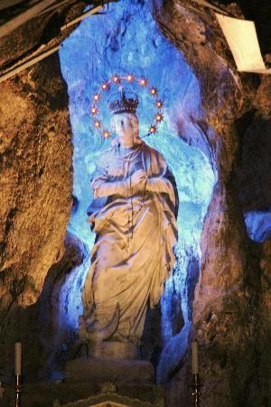 The Sanctuary of Saint Rosalia on Monte Pellegrino, Palermo   The ...