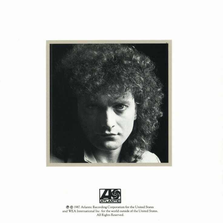Lou Gramm - Ready Or Not Inlay Cover