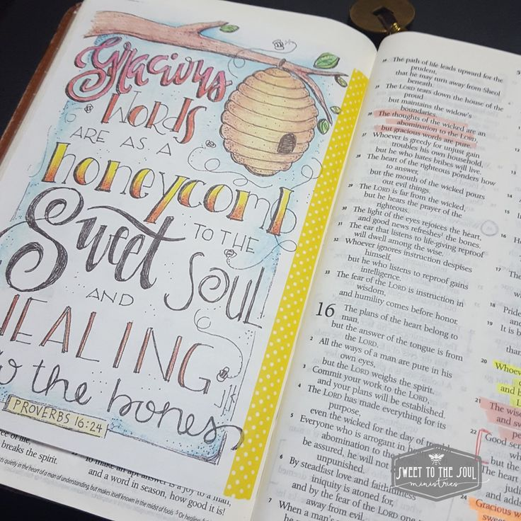 Journaling Bible With Coloring Pages