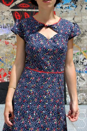 Rhoooo, je la veux celle-là! robe vintage V2 melamelo 2