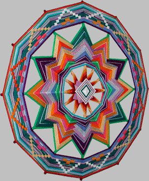 Ojo de Dios/Mandala: gallery of these... sold on etsy - so cool!