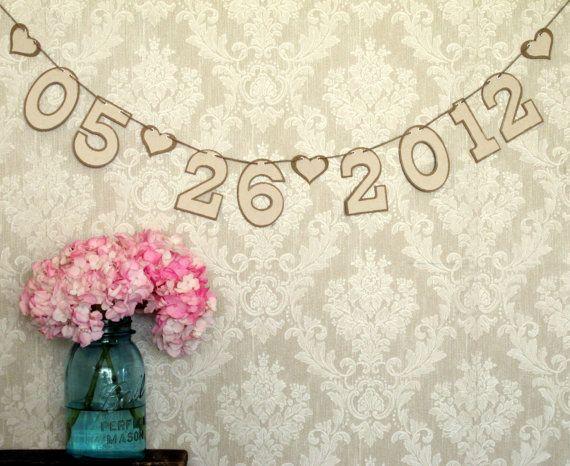 rustic wedding banner by jo blake