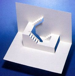 Dream Stairs Pop-Up Card