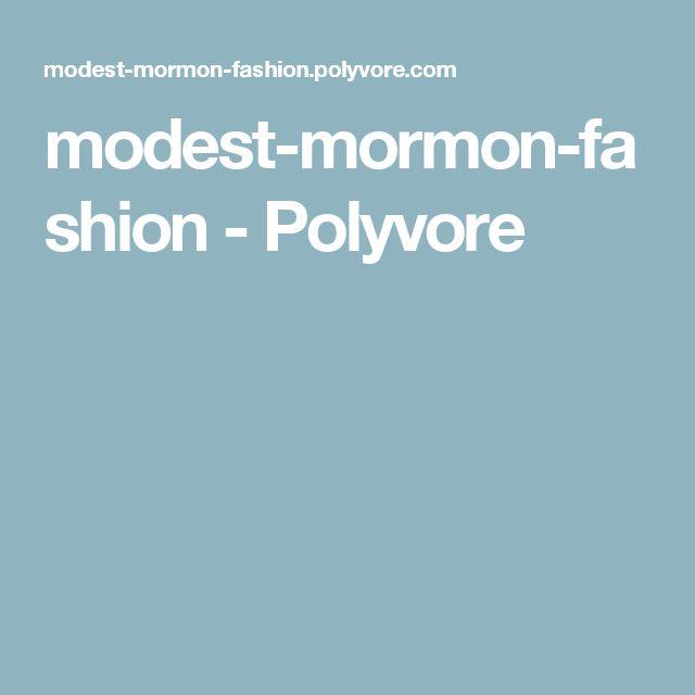 modest-mormon-fashion - Polyvore